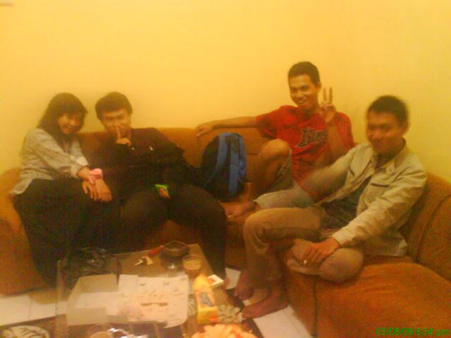 Uti Yuli,Ilham,Rifky dan Fuad