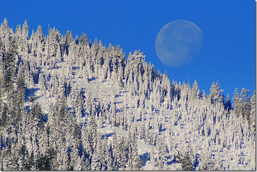 photoshare Moon Set (over Soldier Mt) Fall River Mills CA got2dogs