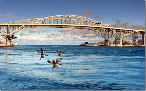photoshare Blue Water Bridge Port Huron MI ichbinher