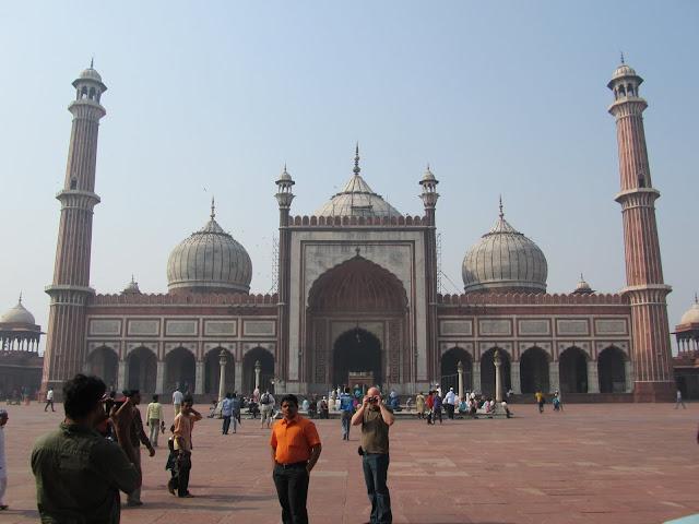 Jama Masjid - Built by Mughal Emperor Shah Jahan
