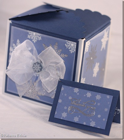 snowflake petal box