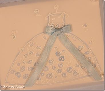 white dresses blue sashes closeup (2)