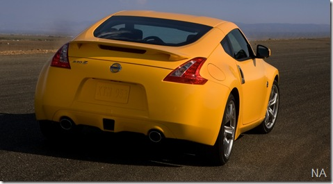 2009-Nissan-370Z-Yellow-Rear-Angle-1280x960