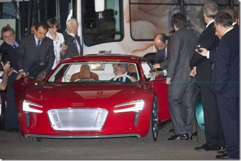 Audi e-tron Lula elétricos 3)