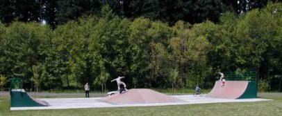 The Wilsonville Skate Park, courtasy of skateoregon.com