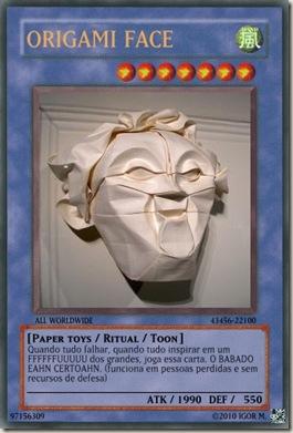 Ritual_ORIGAMI FACE