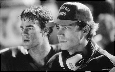So I was kicking myself for not remembering how hot Paul Walker was in Varsity Blues! Good call, Maggie!
