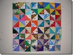 Pinwheel on design board 3