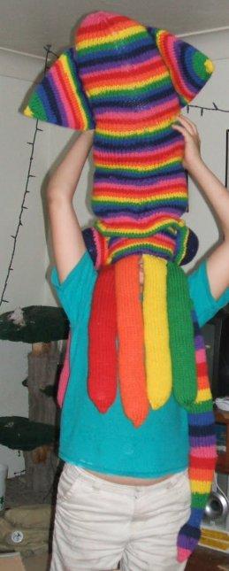 Attack of the rainbow squid!