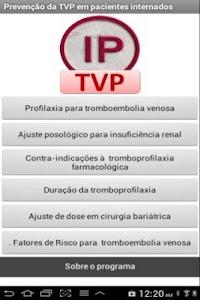 Profilaxia de trombose venosa screenshot 0