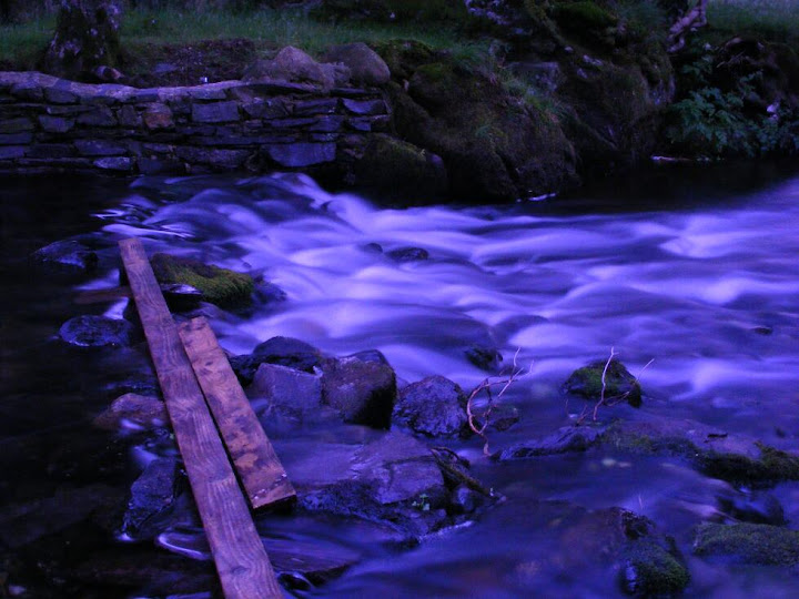 The classic trick with rapids - take a long exposure. For some of these I had to put the stand in the middle of the stream - I hope it doesnt rust