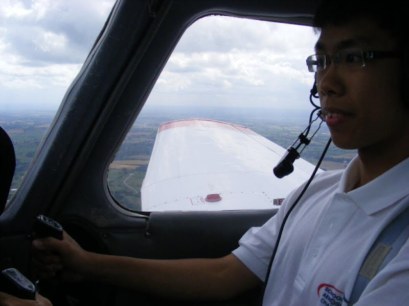 Me flying the PA28!