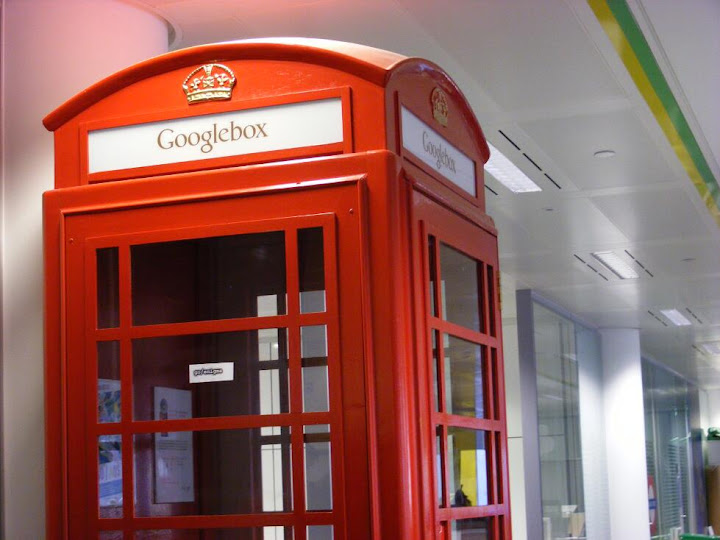 This actually was a telephone box!