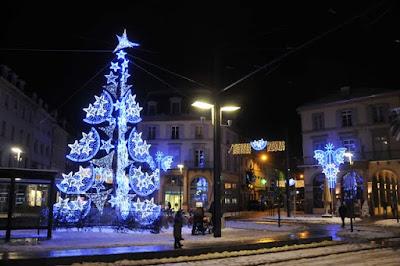Weihnachtsstimmung: Mulhouse im Lichterglanz