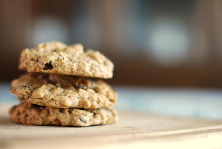 Gluten Free Vegan Oatmeal Raisin Cookies | Without Adornment