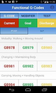 Functional G-Codes (PT/OT/SLP) screenshot 6