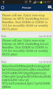 Pure SMS screenshot 0