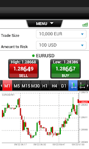 HY Webtrader Mobile screenshot 1