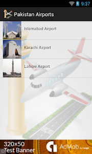Pakistan Airports Flights screenshot 0