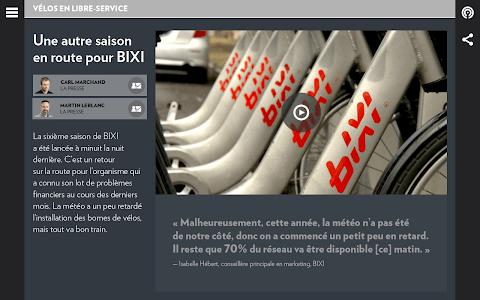 La Presse+ screenshot 11