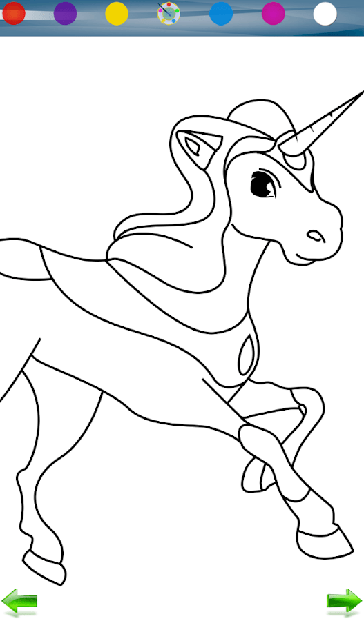 horse coloring game android apps on google play