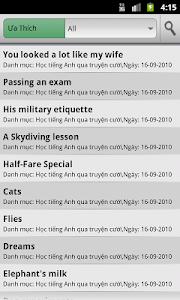 Hoc Tieng Anh Qua Truyen Cuoi screenshot 1