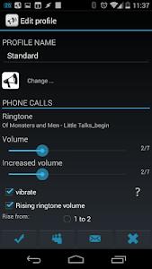 Smart Sound Profiles Trial screenshot 2