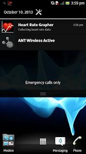 ANT+ Heart Rate Grapher screenshot 2