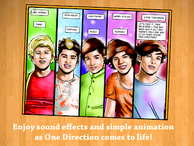 Fame: One Direction Comic Book screenshot 6