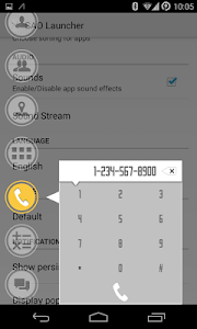 SAO Dialer Extension screenshot 1