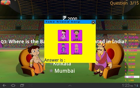 Cricket Quiz with Bheem screenshot 5