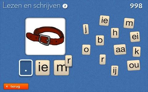 Lezen en Schrijven 2 - Leggen screenshot 4