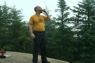 Aaron\'s first Summit Cheeseburger
