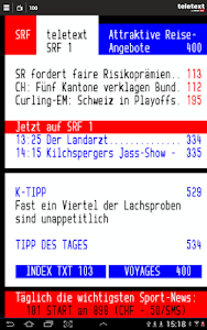 TELETEXT (mobile Website) screenshot 5