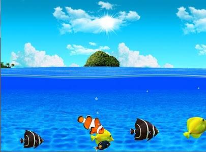 Aqua World HD Free wallpaper screenshot 11