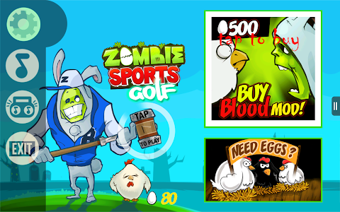 Zombie Golf screenshot 0