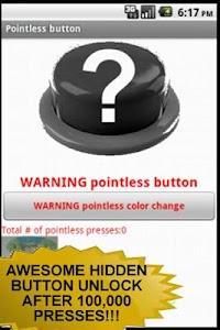 Pointless Button screenshot 0