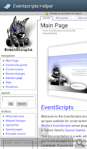 Eventscripts Helper screenshot 1