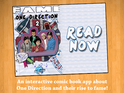Fame: One Direction Comic Book screenshot 5