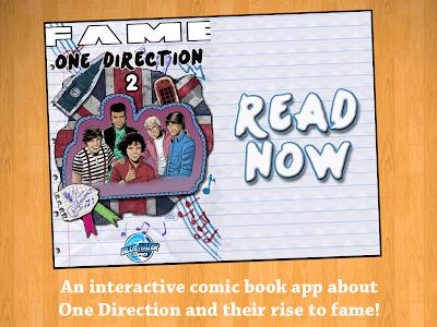 Fame: One Direction Comic Book screenshot 5