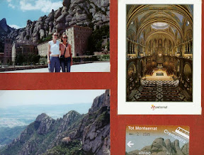 Montserrat Spain scrapbook scrapbooking travel