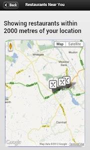 Restaurant Finder screenshot 2