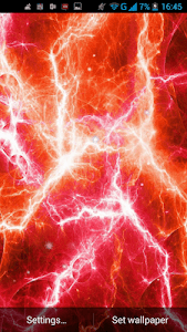 Electric Plasma Live Wallpaper screenshot 1