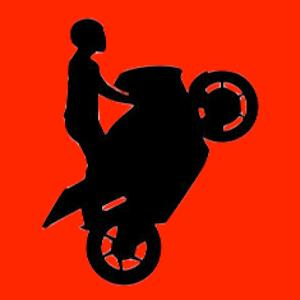 Doodle Stickman Bike Stunt