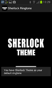 Sherlock Ringtone screenshot 1