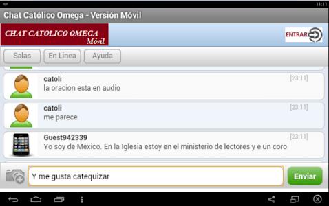 Chat Católico Omega screenshot 3