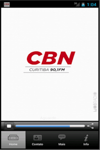 Rádio CBN - 90,1 FM - Curitiba screenshot 0