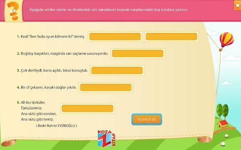 Türkçe 6 KOZA Z-Kitap screenshot 17