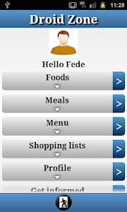 DroidZonePro - Zone Diet screenshot 0