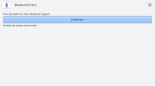 Bluetooth Check screenshot 0